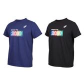ASICS 男短袖T恤(免運 2020 東京 運動上衣 慢跑 路跑 亞瑟士≡體院≡ K12003