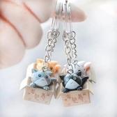 創意可愛卡通貓鑰匙扣 包包配飾掛件 促銷小禮品