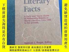 二手書博民逛書店Calendar罕見of Literary FactsY153720 不祥 不祥