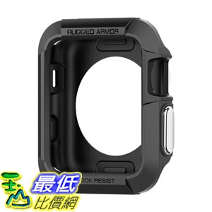 保護殼 Spigen Rugged Armor for Apple Watch Case with Resilient Shock Absorption 42mm Apple