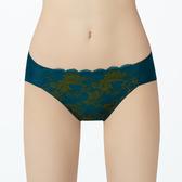 【曼黛瑪璉】雙弧 低腰三角內褲(海洋綠)(未滿2件恕無法出貨,退貨需整筆退)