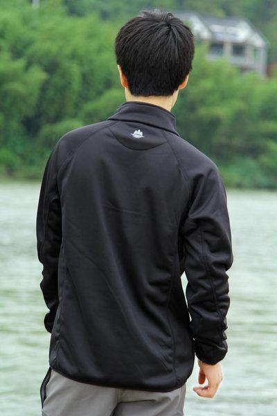 又敗家@BOTACK楠木超強彈性面料POLARTEC抓絨保暖衫運動衫(透氣排汗防風耐磨)保暖衣跑步衫POWER STRETCH