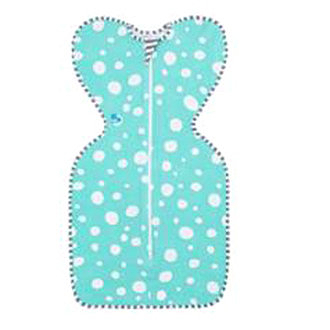 Love To Dream SWADDLE UP 蝶型包巾Stage1(0歲~6個月)新生兒包覆款-綠圈款