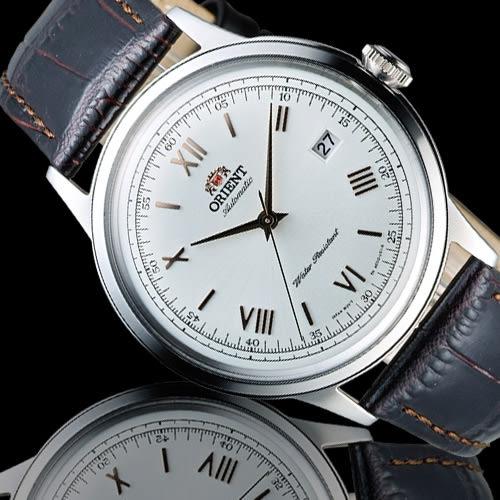 ORIENT 東方錶 DATE系列 羅馬競技場機械錶 FAC00008W 白