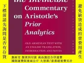 二手書博民逛書店David罕見The Invincible, Commentary On Aristotle s Prior An