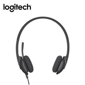 【綠蔭-免運】羅技 H340 USB 耳機麥克風 (981-000476)