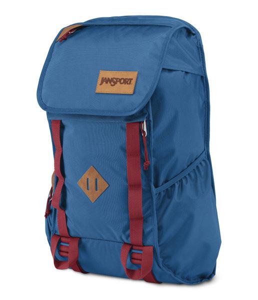 JANSPORT 校園後背包 可放筆電15吋-午夜藍-42015 百貨專櫃限定款