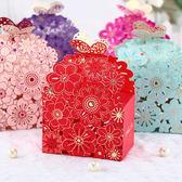 喜糖盒歐式 創意結婚用品 喜糖盒子 婚禮結婚鏤空雕刻糖盒婚慶【快速出貨限時八折】