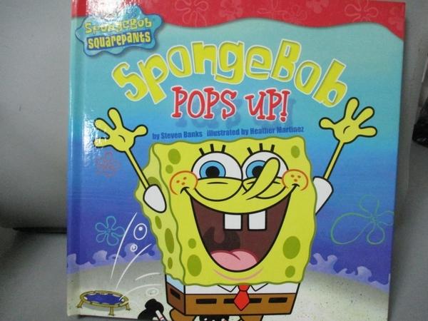 【書寶二手書T7/兒童文學_ZBT】Spongebob Pops Up!_Banks, Steven/ Martinez