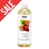 包裝瑕疵【NOW】甜杏仁油(16 oz / 473 ml) Sweet Almond Oil 效期2022/07