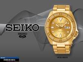 【時間道】SEIKO 精工 5SPORTS新世代5號機械錶/哥德字框全金鋼帶(4R36-08E0G/SRPE74K1)免運費