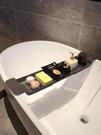 浴缸架 熊五浴缸置物架多功能可伸縮瀝水浴缸架衛生間防滑泡澡浴桶置物架【快速出貨八折下殺】