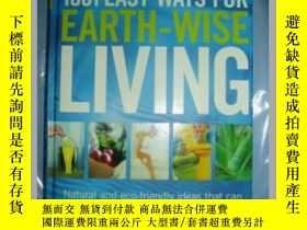 二手書博民逛書店1001罕見EASY WAYS FOR EARTH - WISE