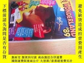 二手書博民逛書店F1罕見WONDERLAND 89(1989 WORLD CHA