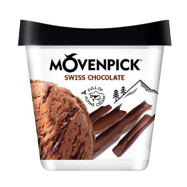 【瑞士原裝進口】Movenpick 莫凡彼冰淇淋 金典巧克力500ml
