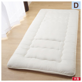 ◆日式床墊 睡墊 折疊床墊 收納便利 雙人 NITORI宜得利家居