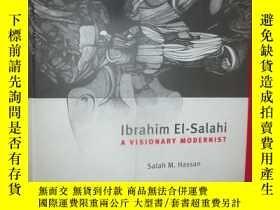 二手書博民逛書店Ibrahim罕見El-Salahi: A Visionary