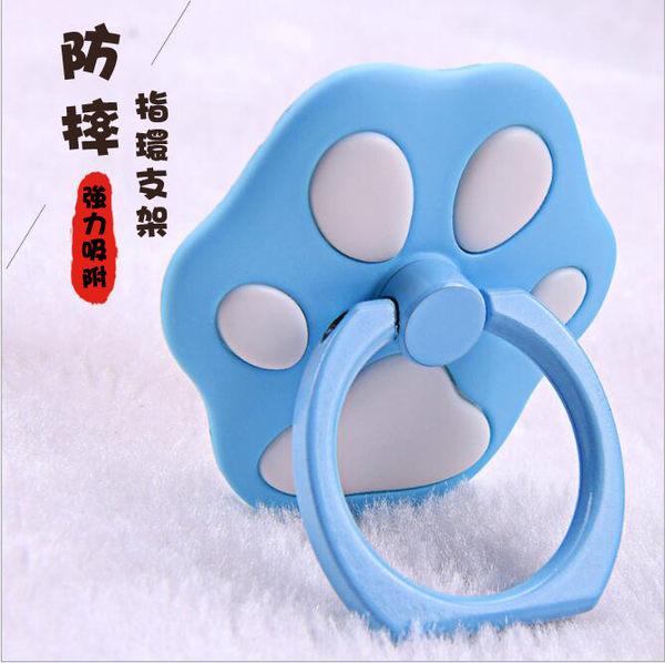 [24hr-現貨快出] 貓掌 貓爪 指環支架 iPhone7 蘋果 6splus 懶人 指環 粘貼式 通用 手機 防滑 支架