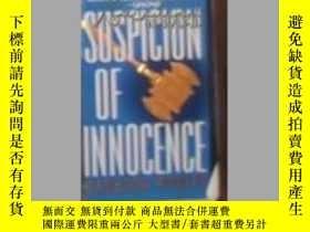 二手書博民逛書店英文原版罕見Suspicion of Innocence by