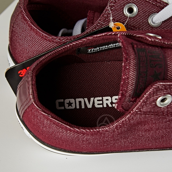 Converse Chuck Taylor All Star 男女 酒紅 低筒 帆布鞋 157579C