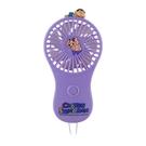 正版 蠟筆小新隨身小風扇 小電扇 隨身風扇 手持風扇 攜帶式風扇 紫色款 COCOS GG200