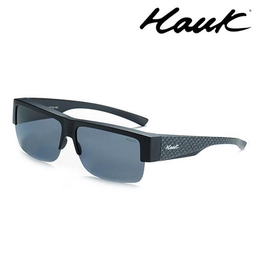 HAWK偏光太陽套鏡(眼鏡族專用)HK1008-46