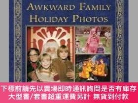 二手書博民逛書店Awkward罕見Family Holiday Photos-尷尬的家庭度假照片Y414958 Mike Be