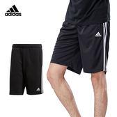 Adidas Ess 3S 男款 黑 運動短褲 棉褲 運動 慢跑 休閒 愛迪達 健身 經典款 三線 短褲 BK7468