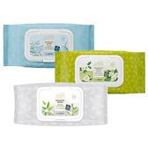 韓國The saem 療癒花園卸妝濕巾(60抽) 茶樹/綠茶/白茶樹 3款可選【小三美日】