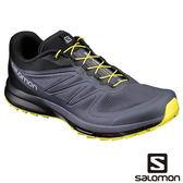 Salomon 男 SENSE PRO 2 野跑鞋-漸層藍/黑/炙熱黃 L39250300【GO WILD】