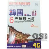 韓國6日無限量國際上網卡 | OS小舖