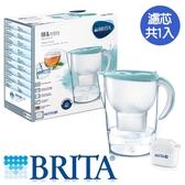 BRITA 馬利拉濾水壺-海島藍(1壺1芯)【愛買】