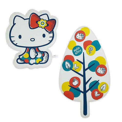 【震撼精品百貨】Hello Kitty 凱蒂貓~HELLO KITTY造型壁掛式留言板(秋日花園)