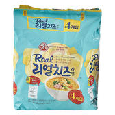 韓國不倒翁 真起司醬拉麵135gx4包(整袋裝)【小三美日】泡麵/進口/ 團購