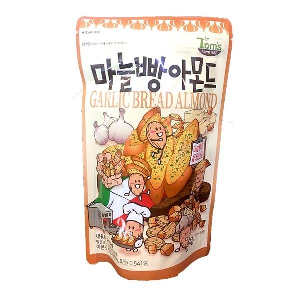 韓國 Toms 杏仁果與大蒜麵包 210g【庫奇小舖】