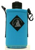 Outdoor Active OA山貓 1000CC水壺套(大) 土耳其藍 P-1000 附背帶 配件 水壺袋 適用Nalgene水壺【易遨遊】