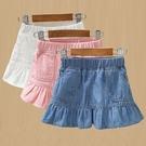 童裝女童牛仔裙2021新款兒童洋氣裙子小女孩夏季短裙寶寶半身裙潮 童趣屋