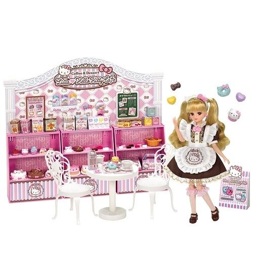 【愛吾兒】莉卡娃娃 莉卡Kitty粉紅甜點屋