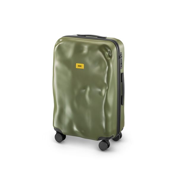 Crash Baggage Medium Trolley with 4 Wheels, Icon 前衛辨識系列 霧面彩色 衝擊 行李箱 中尺寸 25 吋