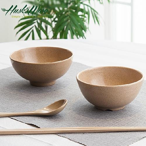 【南紡購物中心】【Husk's ware】美國Husk's ware稻殼天然無毒環保餐碗筷組(6碗6筷)