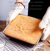 烘焙模具-烤盤烤箱家用不沾烘焙牛軋糖雪花酥古早蛋糕卷面包餅干模具長方形 花間公主