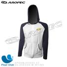 AROPEC 男款長袖萊克抗UV防曬連帽夾克(白) 水上海上活動 - Cooler-冷卻 (限量版)