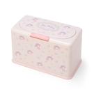 小禮堂 美樂蒂 方形按壓彈蓋口罩盒 塑膠口罩盒 口罩收納盒 面紙盒 (粉 滿版) 4550337-16181