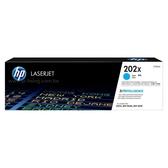 HP 202X 青色原廠高容量碳粉匣 CF501X (2,500張) 適用 M254dw/M281fdw
