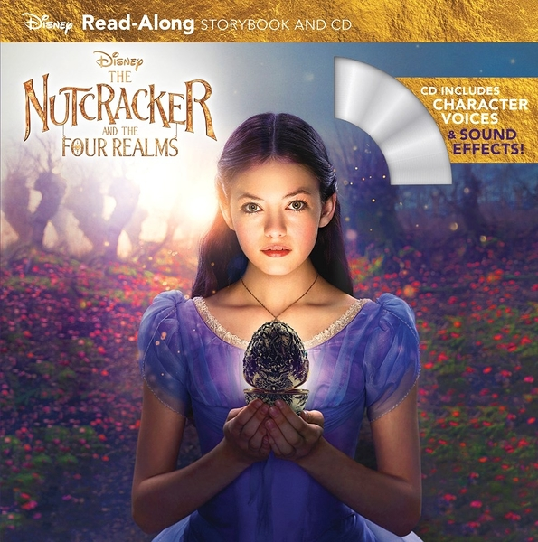 【麥克書店】NUTCRACKER AND FOUR REALMS /英文繪本附CD‧聽迪士尼說故事
