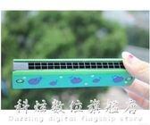樂器彩色木質16孔布魯斯口琴兒童初學小口風 科炫數位