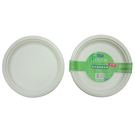 自然風環保植纖圓紙盤-10吋(10入)【愛買】