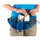 【PUSH!旅遊戶外休閒用品】輕便包腰包旅行隨身包草綠U03-2