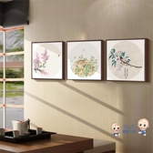 十字繡 2020新款客廳小幅小件古風小型自己手工立體絲帶秀刺繡荷花 3色