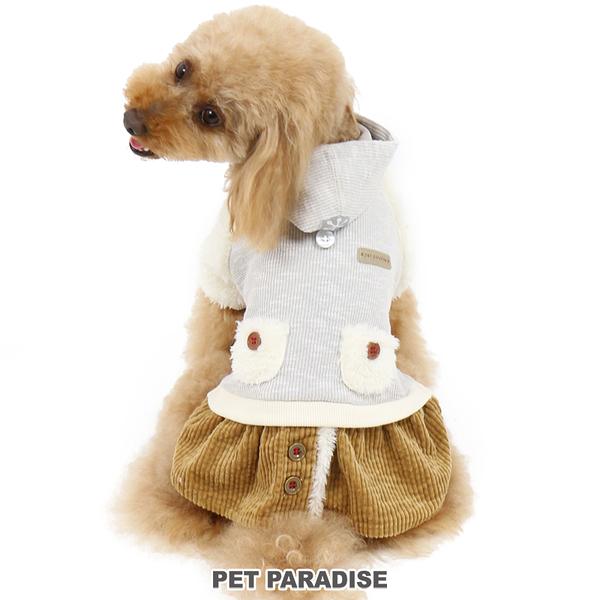 【PET PARADISE 寵物精品】PP 假二件連帽洋裝 (4S/3S/S) 狗衣服 寵物衣服